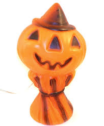 Halloween Blow Mold Display by Amazon Com 1969 Empire Plastics Jack O Lantern Pumpkin Vintage
