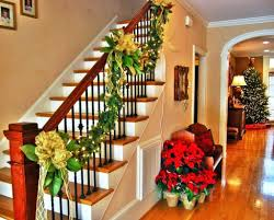 Banister Christmas Decorations Gorgeous Banister Decorating Ideas ... Modern Nice Design Of The Banister Rails Metal That Has Black Leisure Business Women Leaned Over The Banister Stock Photo Heralding Holidays Decorating Roots North South Mythical Stone Statues On Of Geungjeon In Verlo House To Home Hindley Holds Hareton Wuthering Quotes Christmas Garland Diy Village Is Painted Chris Loves Julia Spindle Replacement Is Image Sol Lincoln Leans Against Banisterpng Loud Lamps Made Wood Retro Design