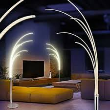 led stehleuchte design flur len chrom boden leuchten wohn
