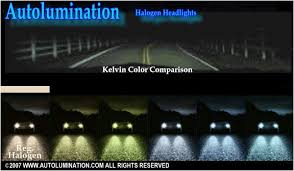headlight bulb color chart what is the brightest color of hid