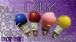diy colored light bulbs tutorials with bonnie