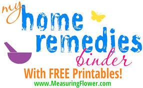 My Home Reme s Binder Plus FREE Printables} Measuring Flower