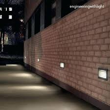 recessed outdoor wall lights light fixtures intended for plan