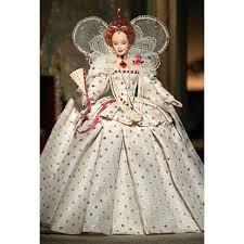 Queen Elizabeth I Barbie Doll B3425 Barbie Signature