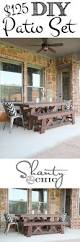 Cheap Dining Room Sets Under 300 by Best 20 Diy Outdoor Table Ideas On Pinterest Outdoor Wood Table