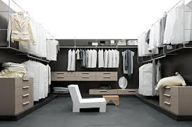 wonderful modern walk in closet designs with clothes hanger built