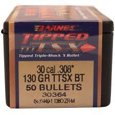 Barnes Bullets 30873 30 Cal .308