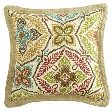 Pier One Patio Cushions by Kaleidoscope Jute Trim Pillow Spice Pier 1 Imports Home