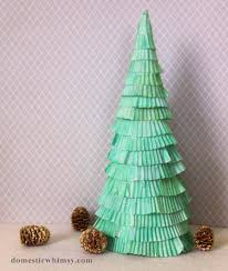 Pine Cone Christmas Tree Tutorial by Unique Christmas Tree Diys Alternative Christmas Tree Ideas