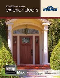 Masonite Patio Door Glass Replacement by Masonite Steel U0026 Fiberglass Exterior Door Full Line Catalog By