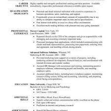 Resume Objectives For Administrative Assistant Positions Valid Sample Position Archives