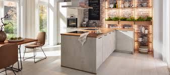 moderne küche in weißbeton küche kräuterliebe