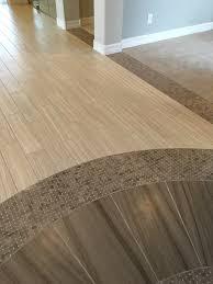 transition flooring ideas tile to wood floor transition ideas decor