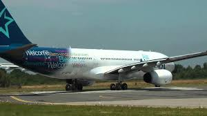 air transat nantes montreal a332 air transat take nantes atlantique airport