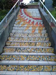 16th Ave Tiled Steps Project by The 16th Avenue Tiled Steps Project Has Been A Neighborhood Effort