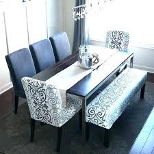 Dining Table Bench Seat Room Sets With Set Incredible