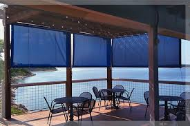 SunTex 90 Patio Enclosure Sun Shades for Restaurants