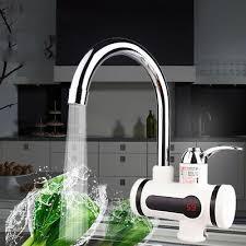 Elektrischer Wasserhahn Durchlauferhitzer 3000w Armatur Led Elektrisch Wasserhahn Sofort Heizung Durchlauferhitzer