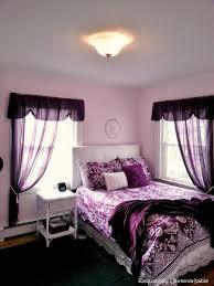 Pretty In Purple Teen Bedroom