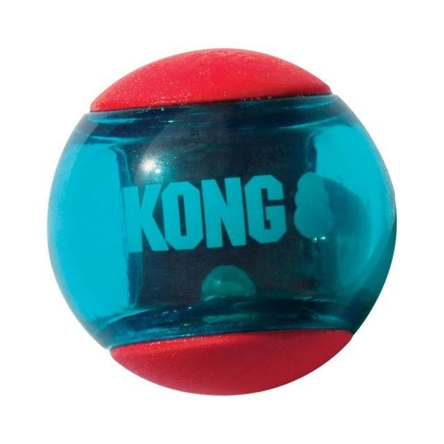 Kong Squeezz Action Toy - Red, Small