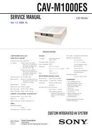 Sony Wega Lamp Kdf 50we655 by 92 Pdf Sony Kdf 42we655 Service Manual Sony 1 468 798 14
