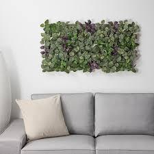 fejka kunstpflanze zur wandmontage drinnen draußen grün