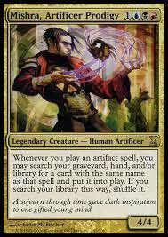 artifact storm edh mishra edh commander magic deck