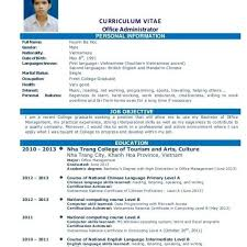Example Of Resume For Fresh Graduate Information Technology Throughout Sample
