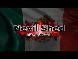 nevil shed llega a méxico youtube