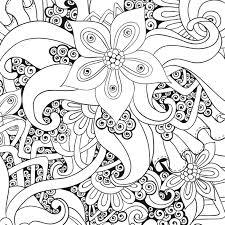 Coloriage à Dessiner Anti Stress Nature раскраска Coloring Pages