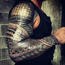 Tribal Tattoo Guy Sleeve