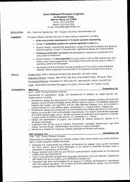 Resume Objective For Software Engineer 136Z Example Experienced Refrence