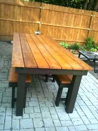 Rustic Outdoor Dining Table Best 25 Tables Ideas On Pinterest 2
