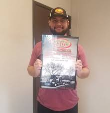 100 Arbuckle Truck Driving School James Wolcott Received His CDL A Today