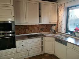 küche einbauküche in u form weiß