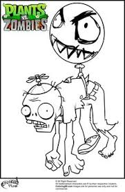 Plants Vs Zombies Coloring Pages 812 590x737