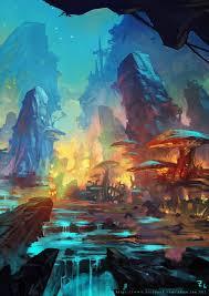 Digital Art Scifi Fantasy
