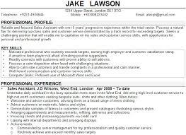 Sales Assistant CV Sample