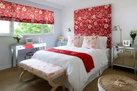 Extraordinary Black White Alluring Red Bedroom Designs