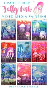 Jelly Fish Art project