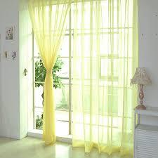 tonsee transparent voile gardinen mode durchsichtig vorhänge