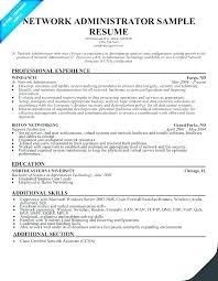 Windows Admin Resume System Administrator Sample Best Of Server L1