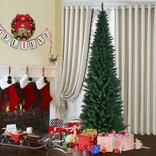 9 Slim Christmas Tree Prelit by Christmas Ft Pencil Slim Christmas Tree9 Trees On Clearance9