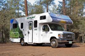 Details Of The Cruise America Compact RV Rental Model