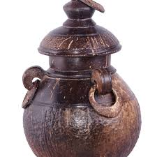 Coconut Pot Or Gadam Full Hand Made Craft