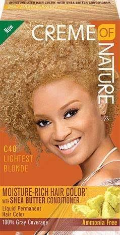Creme of Nature Moisture Rich Hair Color Kit - Lightest Blonde