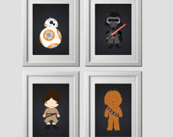 Star Wars Room Decor by Star Wars Wall Decor Etsy