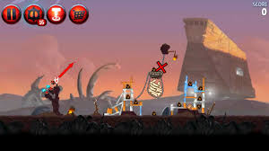 Angry Birds Star War II P2 3 First Shot