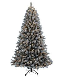 Pre Lit Flocked Artificial Christmas Trees by Astonishing Flocked Artificial Christmas Trees Clearance