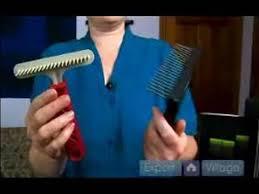 Shedding Blade Vs Rake by Long Haired Dog Grooming Tools Rake Dog Grooming Tool Youtube